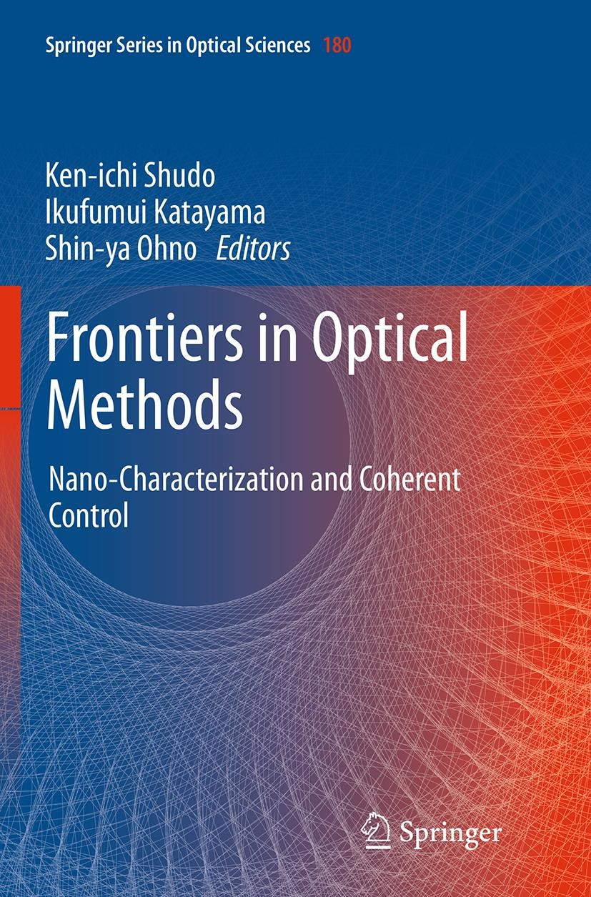 Abbildung von Shudo / Katayama / Ohno | Frontiers in Optical Methods | Softcover reprint of the original 1st ed. 2014 | 2016