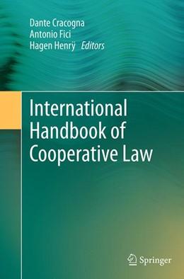 Abbildung von Cracogna / Fici   International Handbook of Cooperative Law   1. Auflage   2016   beck-shop.de