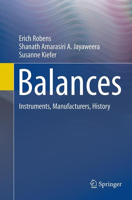 Abbildung von Robens / Jayaweera / Kiefer   Balances   Softcover reprint of the original 1st ed. 2014   2016