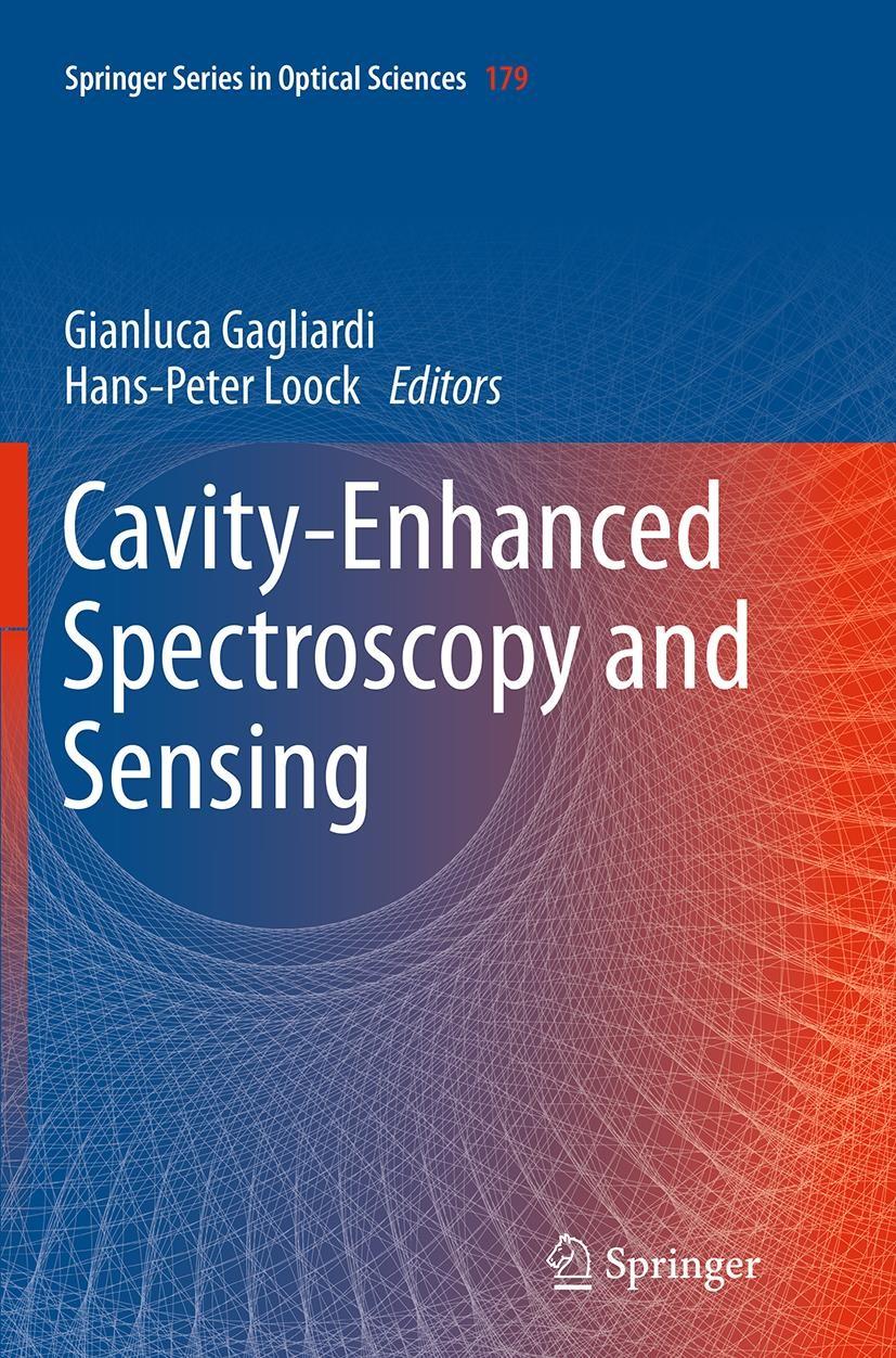 Abbildung von Gagliardi / Loock | Cavity-Enhanced Spectroscopy and Sensing | Softcover reprint of the original 1st ed. 2014 | 2016