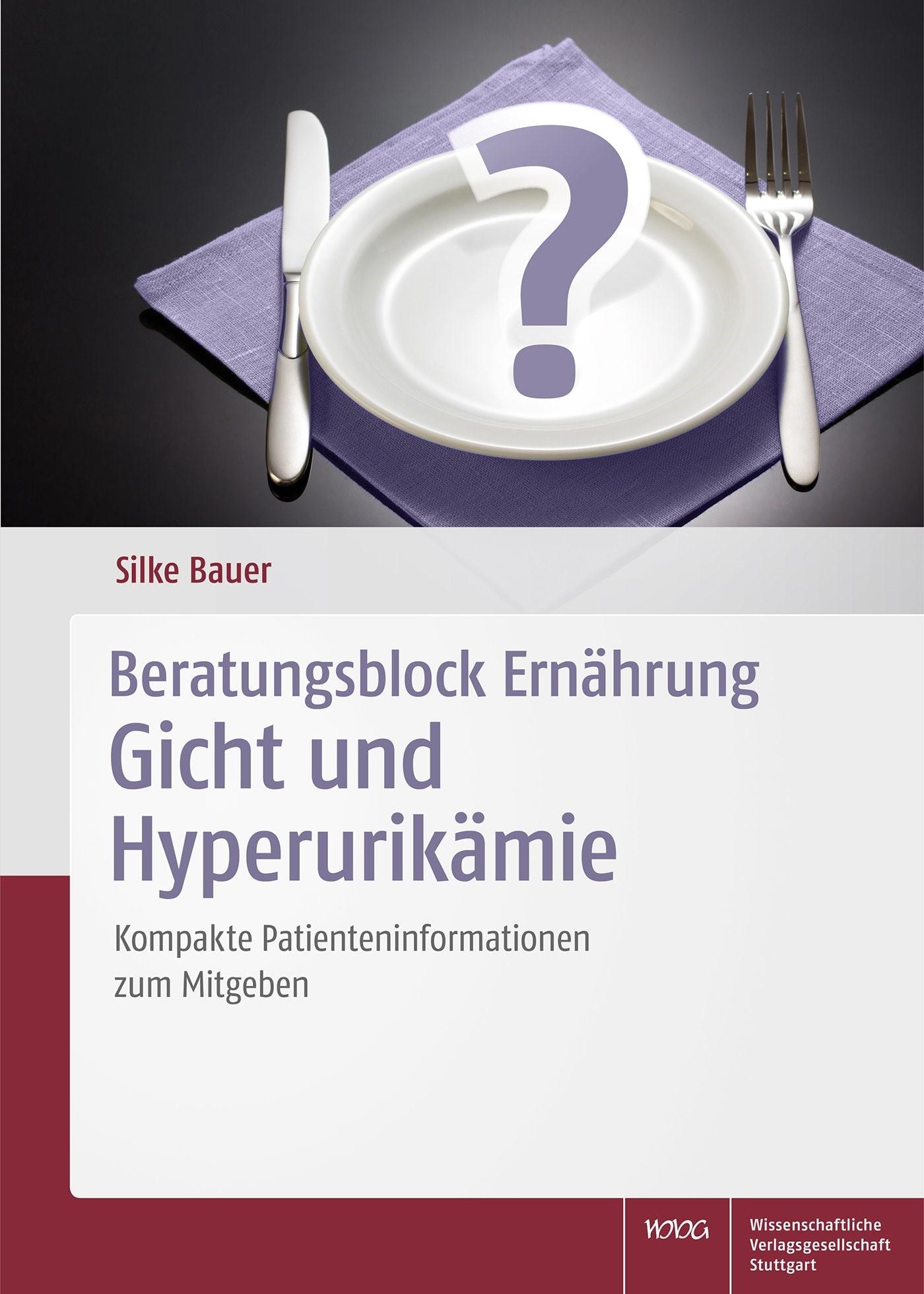Abbildung von Bauer | Beratungsblock Ernährung: Gicht und Hyperurikämie | 2016