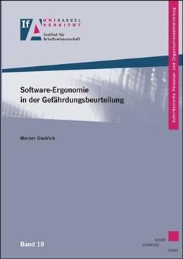 Abbildung von Diedrich | Software-Ergonomie in der Gefährdungsbeurteilung | 2016 | Eine arbeitswissenschaftliche ...