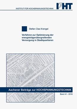Abbildung von Krengel | Verfahren zur Optimierung der energieträgerübergreifenden Versorgung in Stadtquartieren | 1. Auflage | 2016 | beck-shop.de