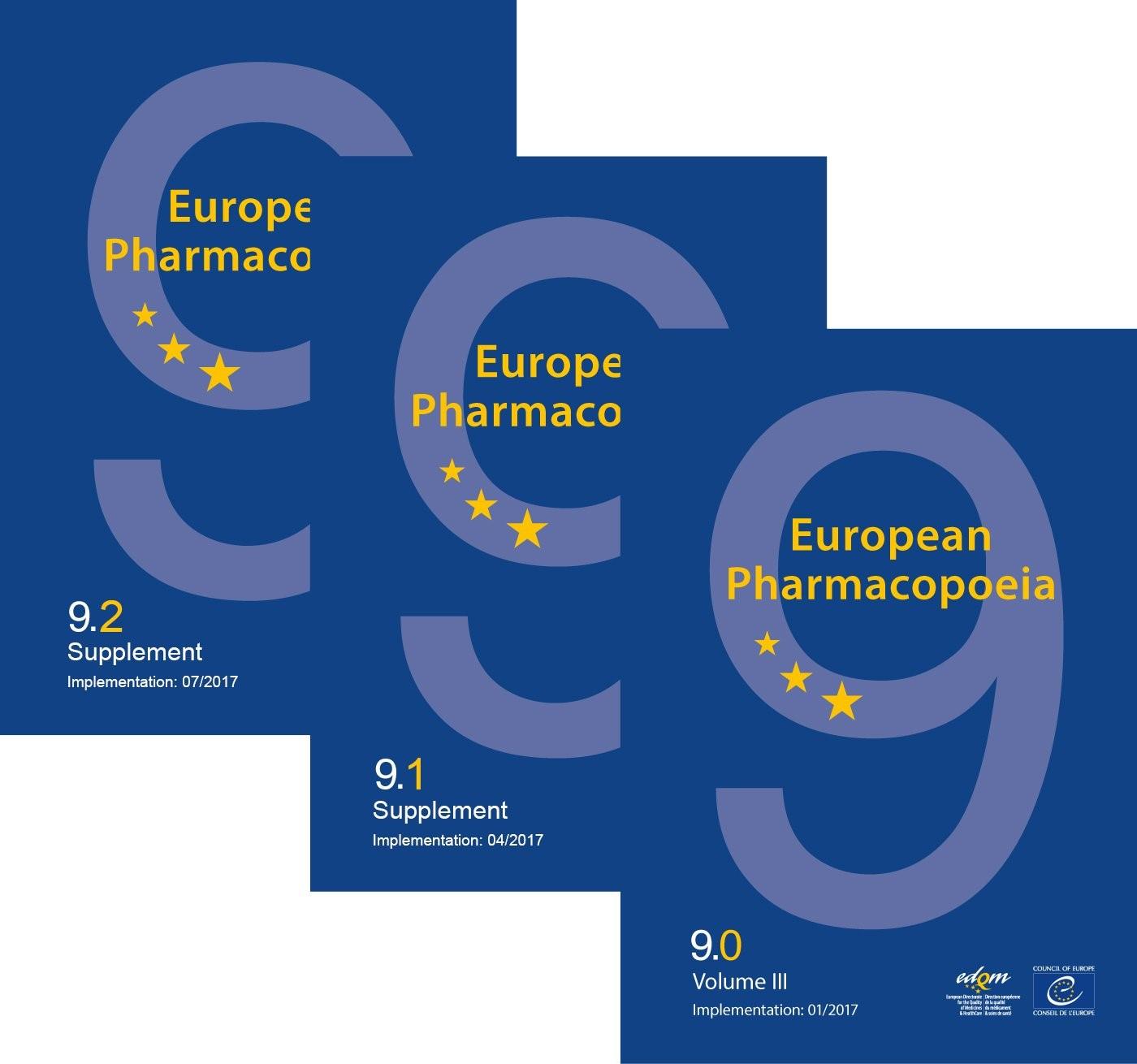 Abbildung von European Pharmacopoeia, 9th edition 2016, English | 2016