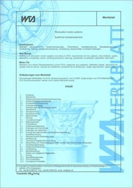 Abbildung von Innendämmung nach WTA II: Nachweis von Innendämmsystemen mittels numerischer Berechnungsverfahren.   1. Auflage   2014   beck-shop.de