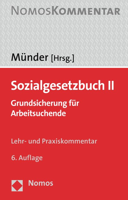 Sozialgesetzbuch II | Münder (Hrsg.) | Buch (Cover)