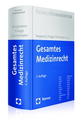 Abbildung von Bergmann / Pauge | Gesamtes Medizinrecht | 3. Auflage | 2018 | beck-shop.de