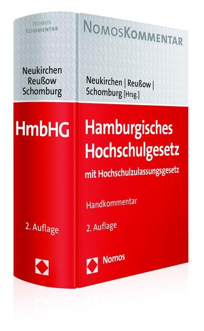 Abbildung von Neukirchen / Reußow / Schomburg   Hamburgisches Hochschulgesetz   2016