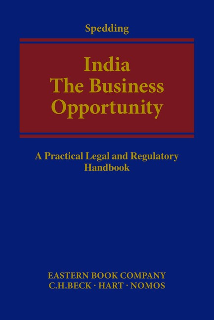 India - The Business Opportunity | Spedding, 2016 | Buch (Cover)