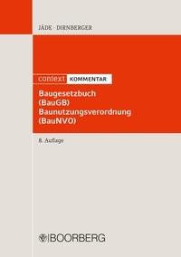 Baugesetzbuch, Baunutzungsverordnung: BauGB, BauNVO | Jäde / Dirnberger | 8., überarbeitete Auflage, 2016 | Buch (Cover)