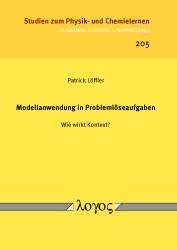 Modellanwendung in Problemlöseaufgaben -- Wie wirkt Kontext? | Löffler, 2016 | Buch (Cover)