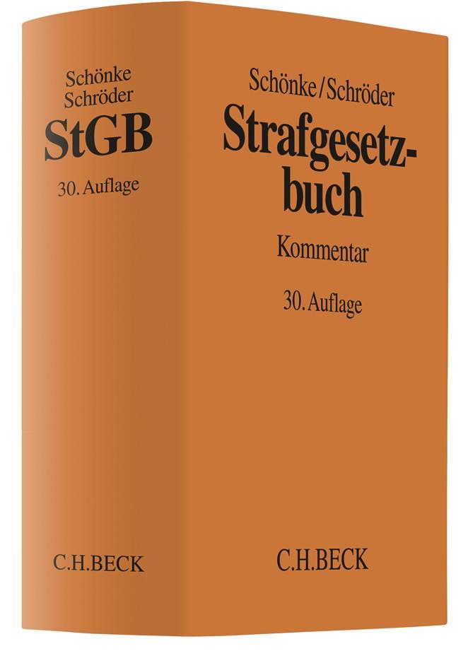 Strafgesetzbuch: StGB | Schönke / Schröder | 30., neu bearbeitete Auflage, 2018 | Buch (Cover)