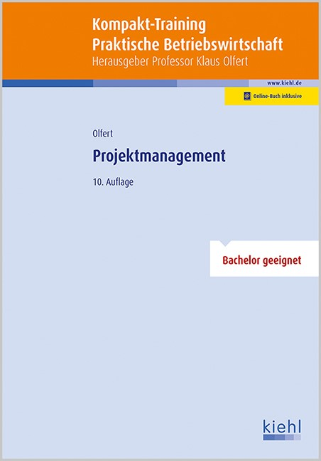 Kompakt-Training Projektmanagement | Olfert | 10., aktualisierte Auflage, 2016 | Buch (Cover)