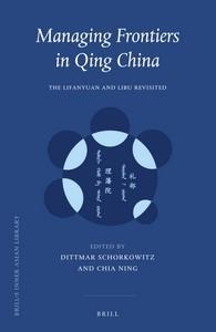 Abbildung von Managing Frontiers in Qing China | 2016