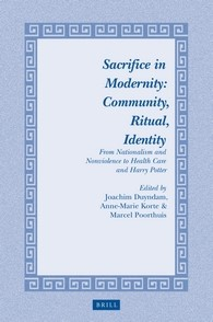 Abbildung von Sacrifice in Modernity: Community, Ritual, Identity | 2016