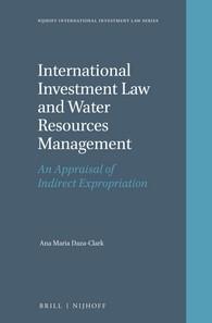 Abbildung von Daza-Clark | International Investment Law and Water Resources Management | 2016