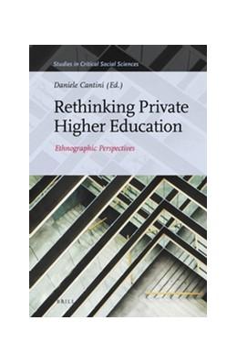 Abbildung von Rethinking Private Higher Education | 2016