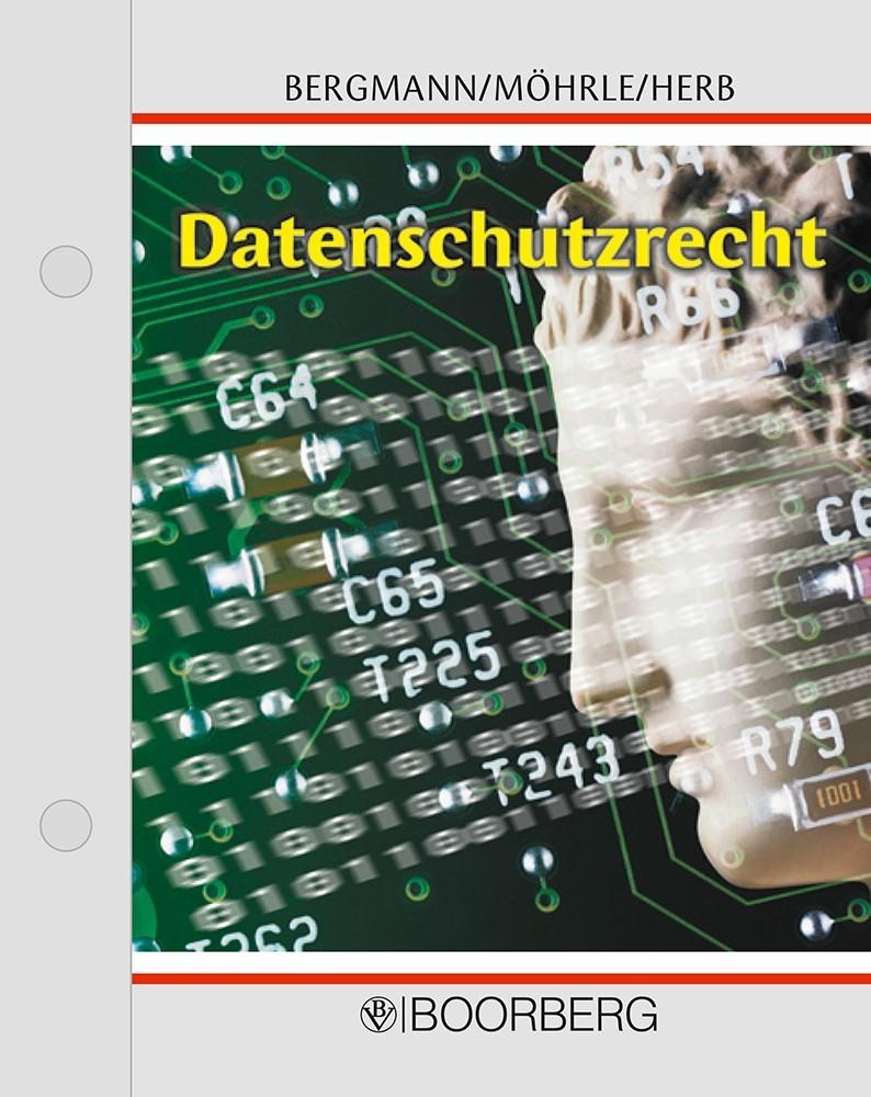 Datenschutzrecht | Bergmann / Möhrle / Herb | Loseblattwerk mit 55. Aktualisierung (Cover)