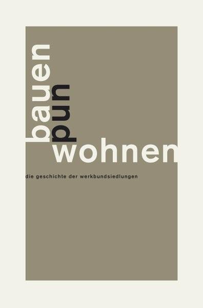 Bauen und Wohnen | Kahlfeldt, 2016 | Buch (Cover)