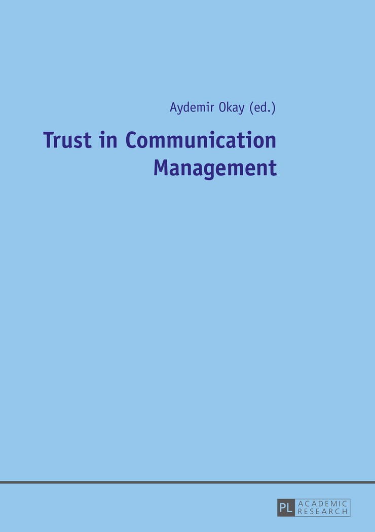 Trust in Communication Management | Okay, 2016 | Buch (Cover)