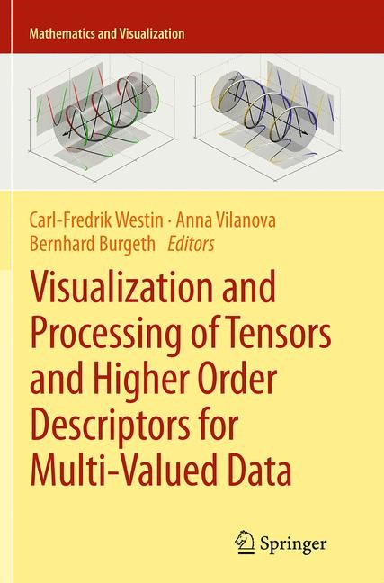 Abbildung von Westin / Vilanova / Burgeth | Visualization and Processing of Tensors and Higher Order Descriptors for Multi-Valued Data | Softcover reprint of the original 1st ed. 2014 | 2016