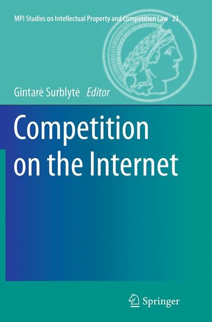 Abbildung von Surblyte | Competition on the Internet | Softcover reprint of the original 1st ed. 2015 | 2016