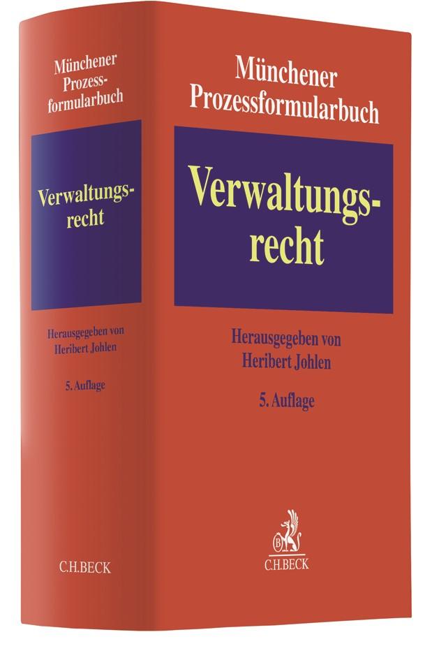 Münchener Prozessformularbuch, Band 7: Verwaltungsrecht | 5. Auflage, 2018 | Buch (Cover)
