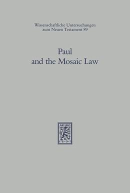 Abbildung von Dunn | Paul and the Mosaic Law | 1996 | The Third Durham-Tübingen Rese... | 89