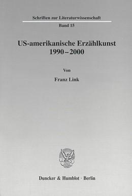 Abbildung von Link | US-amerikanische Erzählkunst 1990-2000. | 2001 | 15