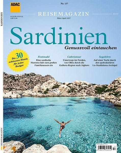 ADAC Reisemagazin Sardinien, 2017 | Buch (Cover)