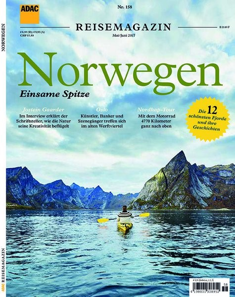 ADAC Reisemagazin Norwegen, 2017 | Buch (Cover)