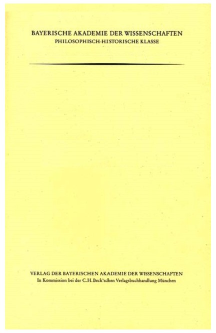 Cover: Egon Felder, Die Personennamen auf den merowingischen Münzen der Bibliothèque nationale de France