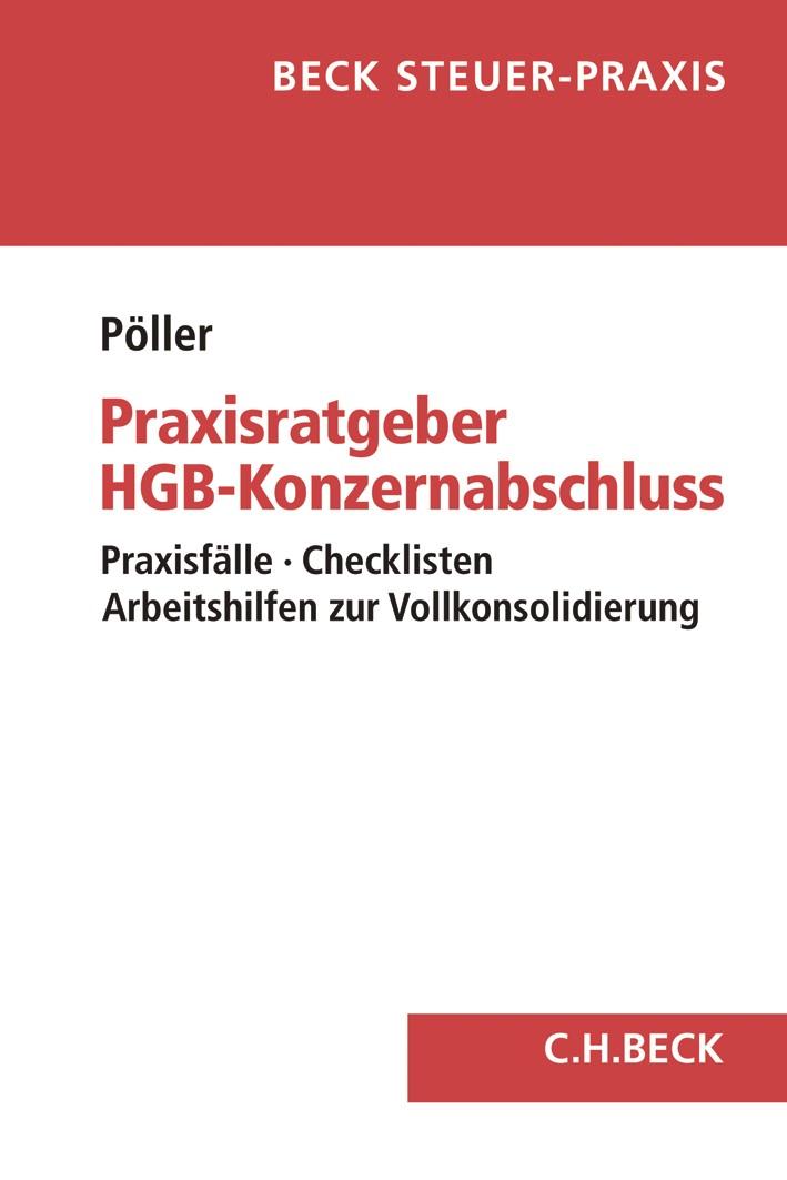 Praxisratgeber HGB-Konzernabschluss | Pöller, 2019 | Buch (Cover)