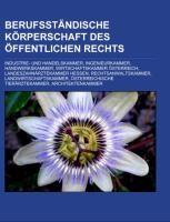 Berufsständische Körperschaft des öffentlichen Rechts | Quelle: Wikipedia, 2011 (Cover)