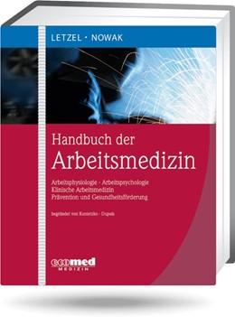 Abbildung von Letzel / Nowak   Handbuch der Arbeitsmedizin   Loseblattwerk mit 56. Aktualisierung   2020   Arbeitsphysiologie, Arbeitspsy...