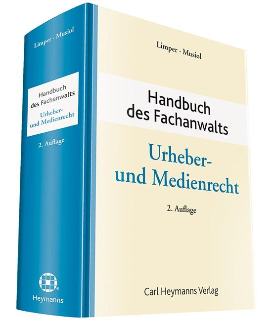 Handbuch des Fachanwalts Urheber- und Medienrecht   Limper / Musiol (Hrsg.)   2. Auflage, 2017   Buch (Cover)