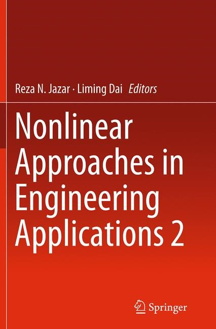 Abbildung von Jazar / Dai | Nonlinear Approaches in Engineering Applications 2 | Softcover reprint of the original 1st ed. 2014 | 2016