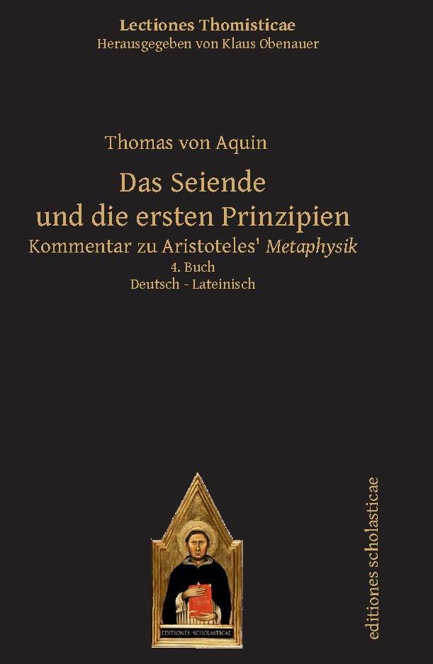 Abbildung von von Aquin | Das Seiende und die ersten Prinzipien | Aus dem Lateinischen übersetzt von Stefan Sellner | 2016