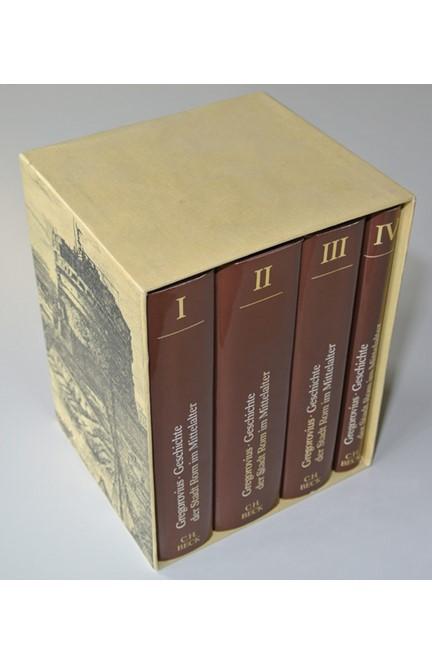 Cover: Ferdinand Gregorovius, Geschichte der Stadt Rom im Mittelalter
