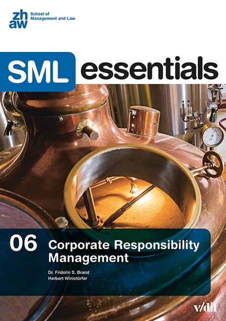 Corporate Responsibility Management | Brand / Winistörfer, 2016 | Buch (Cover)