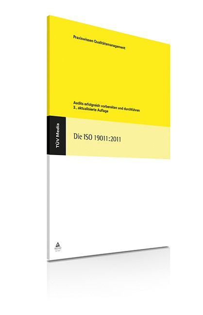 Die ISO 19011:2011   Kallmeyer / Kretschmar / Below   3., aktualisierte Auflage, 2016   Buch (Cover)