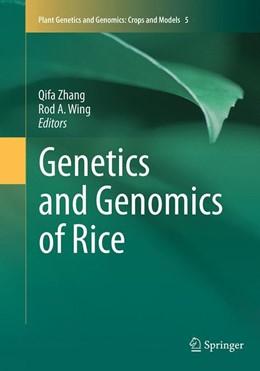 Abbildung von Zhang / Wing | Genetics and Genomics of Rice | Softcover reprint of the original 1st ed. 2013 | 2016 | 5