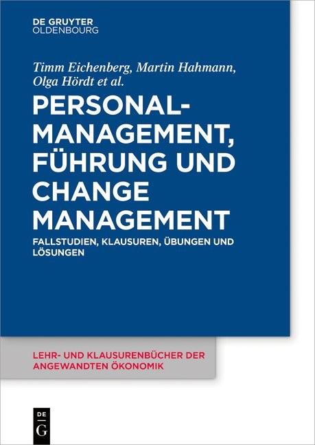 Personalmanagement, Führung und Change-Management | Eichenberg / Hahmann / Hördt, 2019 | Buch (Cover)
