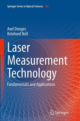 Abbildung von Donges / Noll | Laser Measurement Technology | Softcover reprint of the original 1st ed. 2015 | 2016 | Fundamentals and Applications | 188