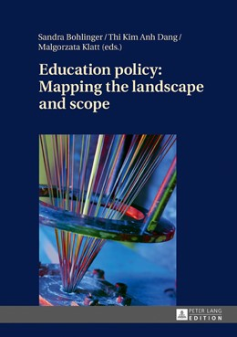 Abbildung von Bohlinger / Dang / Klatt | Education policy: Mapping the landscape and scope | 2016
