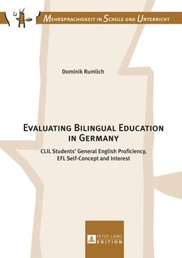 Abbildung von Rumlich   Evaluating Bilingual Education in Germany   1. Auflage   2016   beck-shop.de