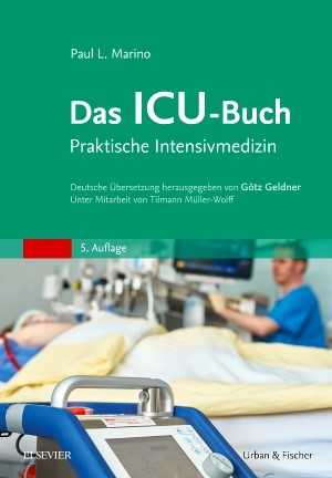 Das ICU-Buch | Marino / Geldner / Müller-Wolff | 5. Auflage, 2017 | Buch (Cover)