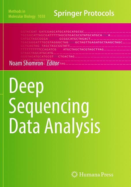 Abbildung von Shomron | Deep Sequencing Data Analysis | Softcover reprint of the original 1st ed. 2013 | 2016