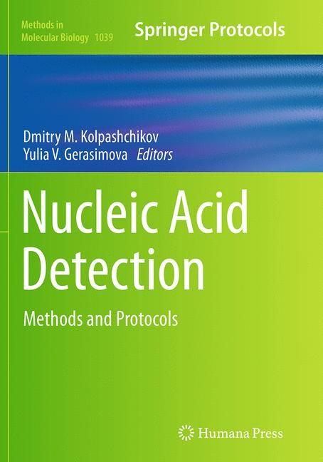 Abbildung von Kolpashchikov / Gerasimova | Nucleic Acid Detection | Softcover reprint of the original 1st ed. 2013 | 2016