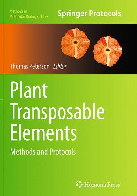 Abbildung von Peterson | Plant Transposable Elements | Softcover reprint of the original 1st ed. 2013 | 2016